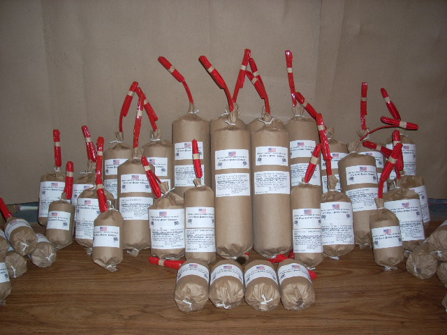 Specialty Fireworks Manufactured by Old Glory Powder Company